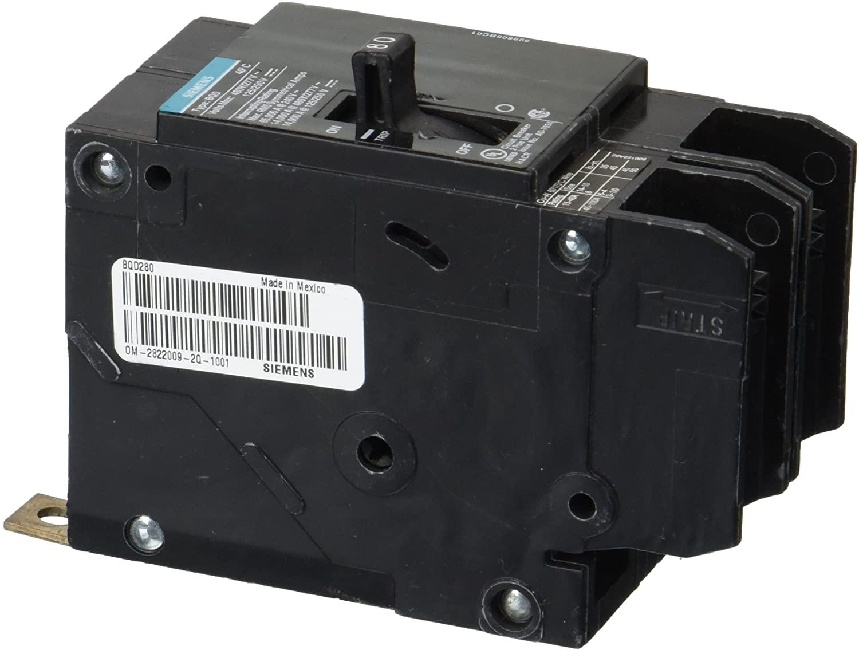 Siemens BQD280 80-Amp Double Pole 480Y/277V AC - 125/250V DC 14KAIC Bolt in Breaker