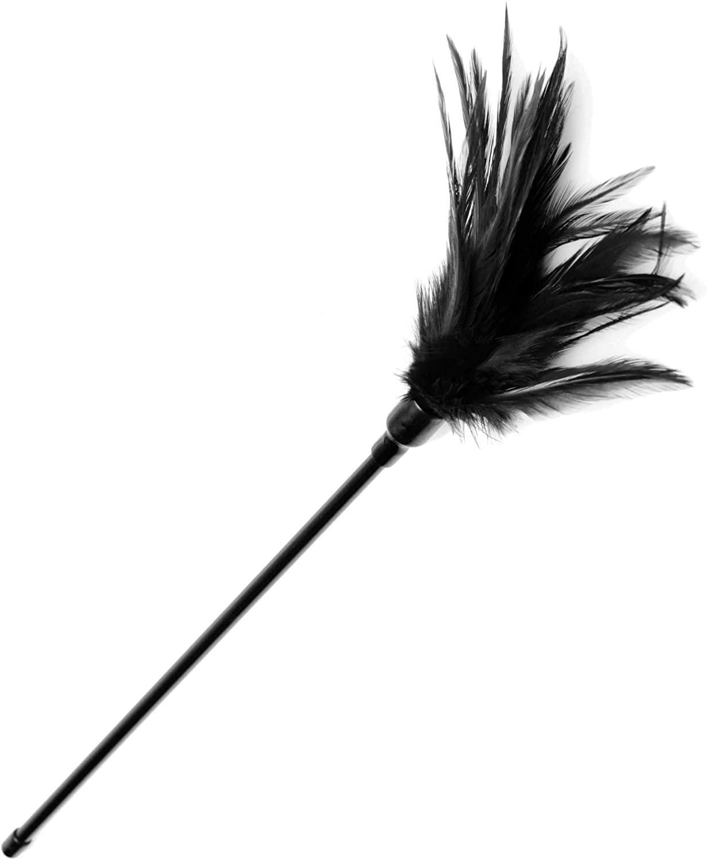 Le Plume Feather Tickler (Black)