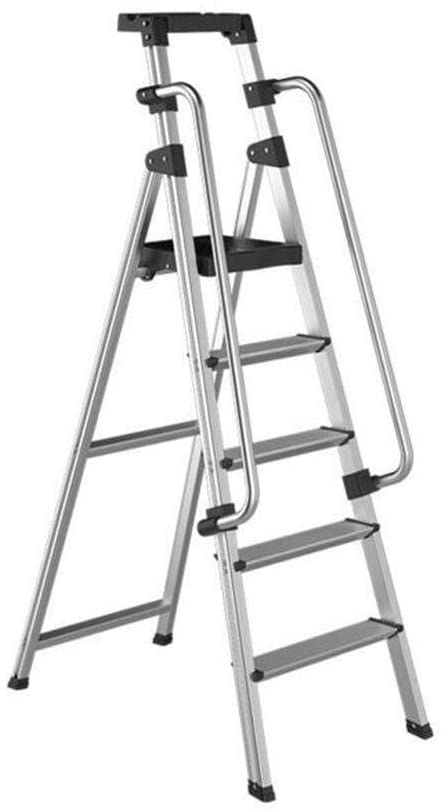 LADDERS Ladders Telescoping, Luminum s Indoor Home Stepladder Extension Thick Herringbone Telescopic Foldable Frame