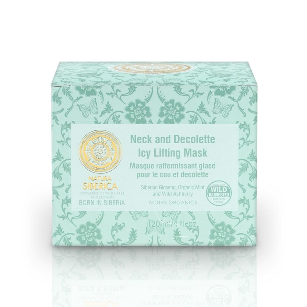 Natura Siberica Active Organics Ice Lifting Face & Nech Mask