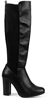 Mark and Maddux Milo01 Knee High Women's High Heel Boots in Black