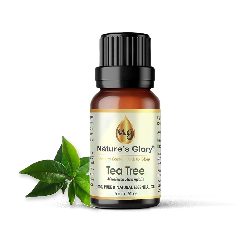 Natures Glory 100% Pure&Natural Tea Tree Essential Oil- 15ML