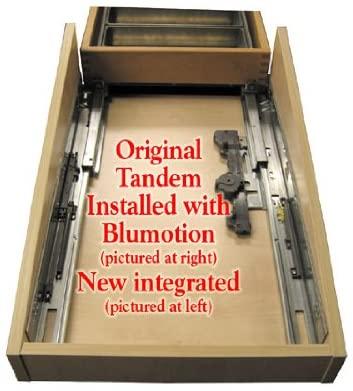 Blum Tandem Premium Undermount Slides With Integrated Soft Close Full Extension For 21