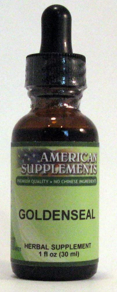 Goldenseal American Supplements 1 oz Liquid
