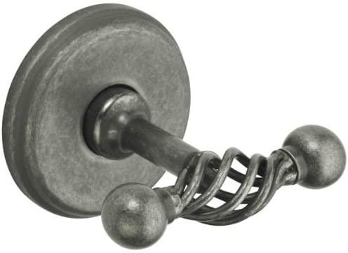 Fusion BOR-RHK-ATP Robe Hook (double), Antique Pewter