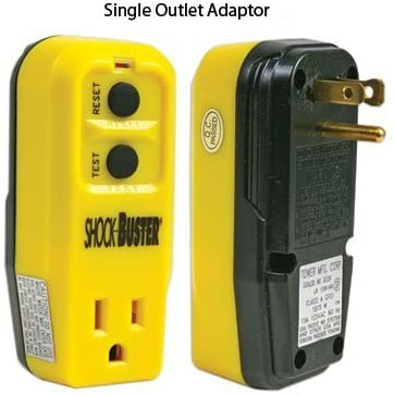 GFCI Outlet Adapters Single Outlet Adapter