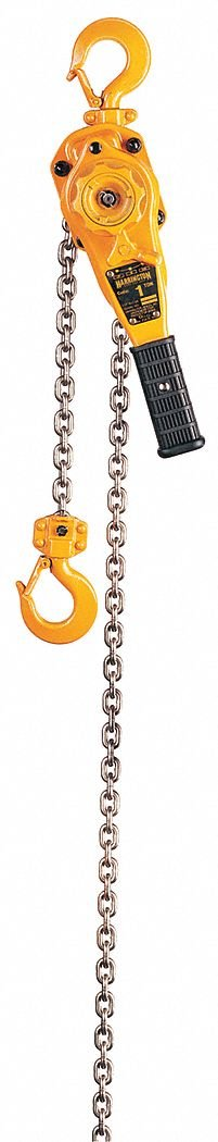 Harrington LB Series Steel Lever Hoist, 9-19/32