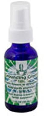 Flower Essence Services Grounding Green Spray, 1 oz (Pack of 6)