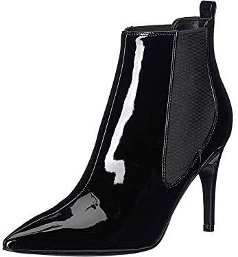 NINE WEST Women's Bootie Ankle Boot, Black, 8
