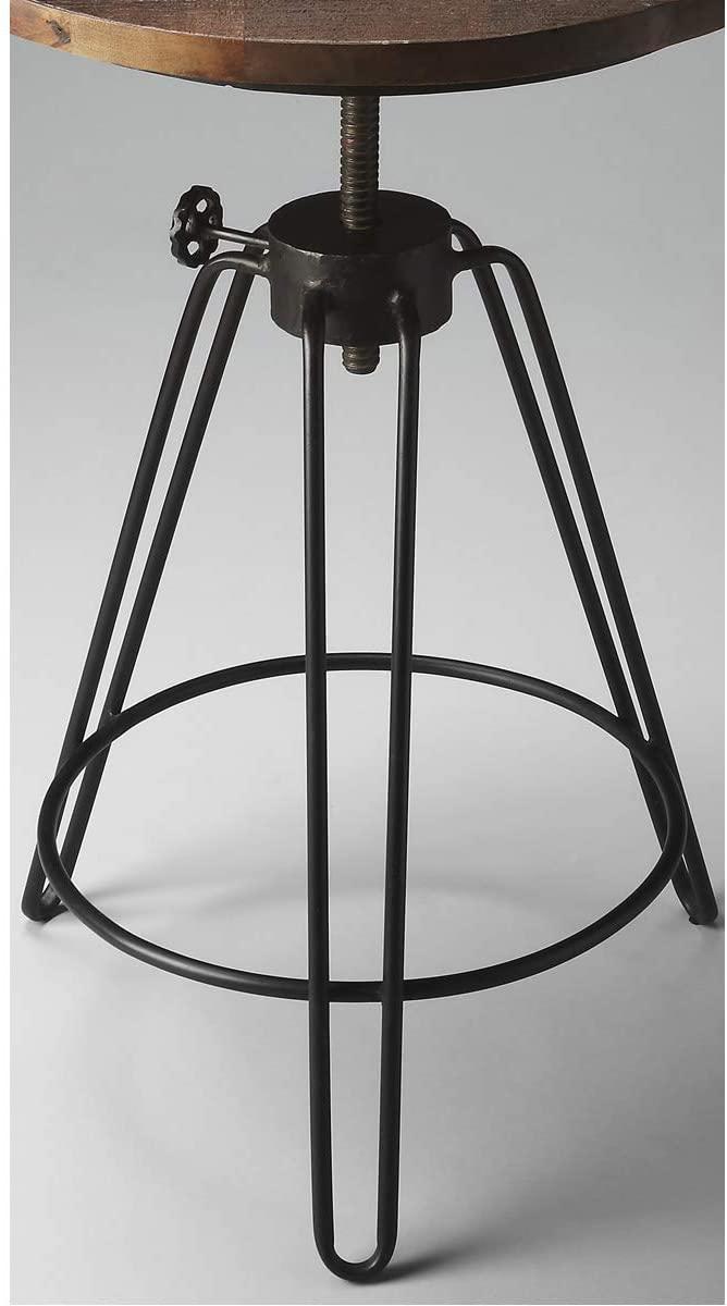 BUTLER 2046025 TRENTON METAL & WOOD ACCENT TABLE