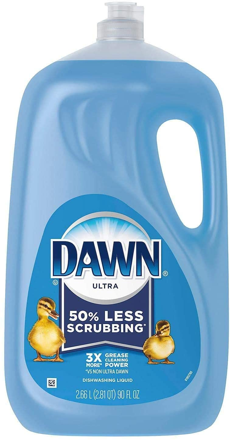Dawn Ultra Dishwashing Liquid, Original Scent 90 Fl. Oz.