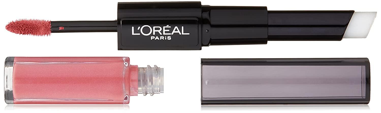 L'Oréal Paris Infallible Pro Last 2 Step Lipstick, Toujour Teaberry, 0.07 fl. oz.