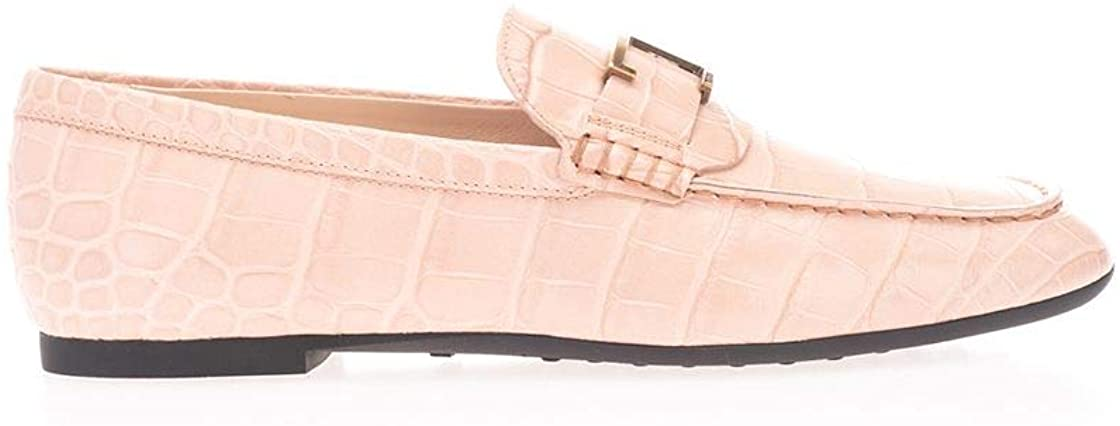Tod's Luxury Fashion Woman XXW20C0CX50WENM030 Pink Leather Loafers | Spring Summer 20