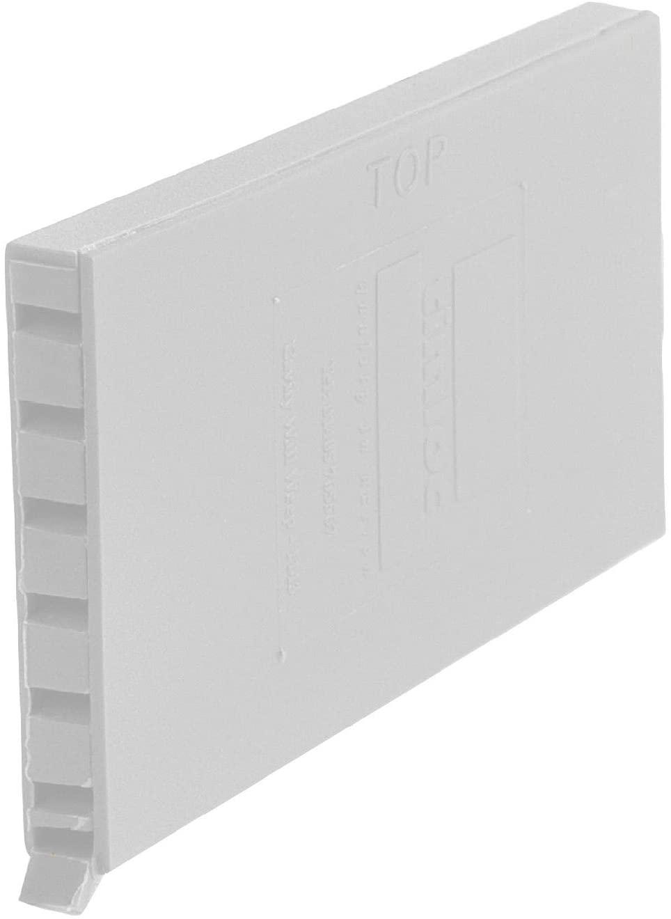 50 x White Brick Weep Vents Ventilation / Cavity Wall Retaining Garden Walls