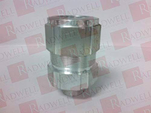 CROUSE HINDS TECK075 6 Cable Gland 3/4IN NPT Aluminum Range 1.025-1.025IN