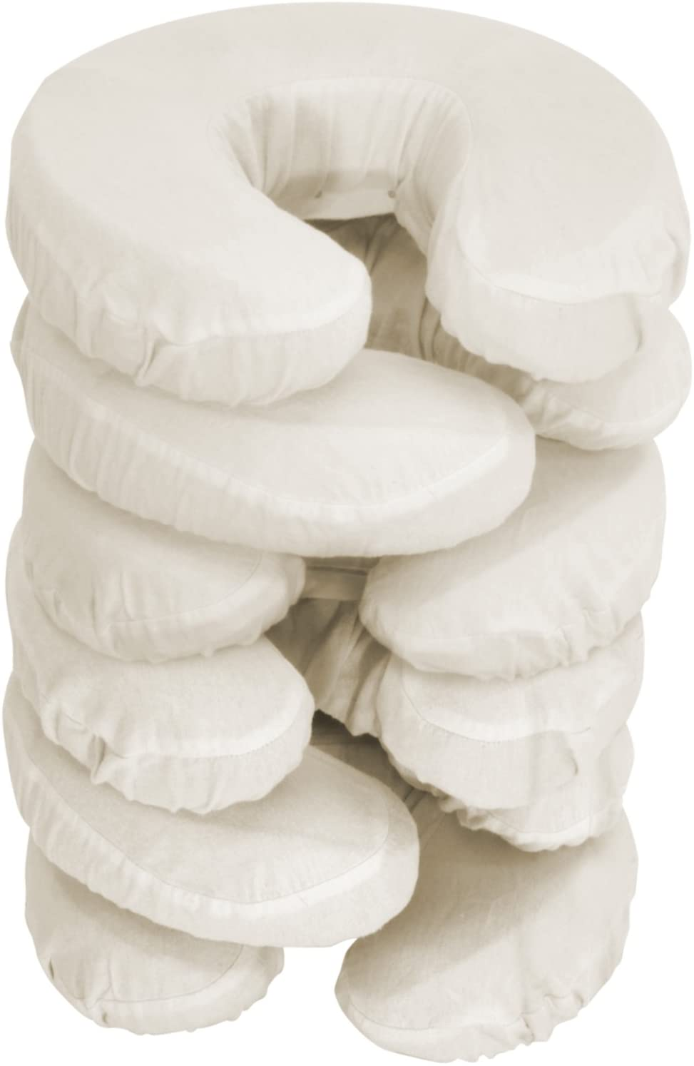Master Massage Pillow Covers, 6 Pack, Beige