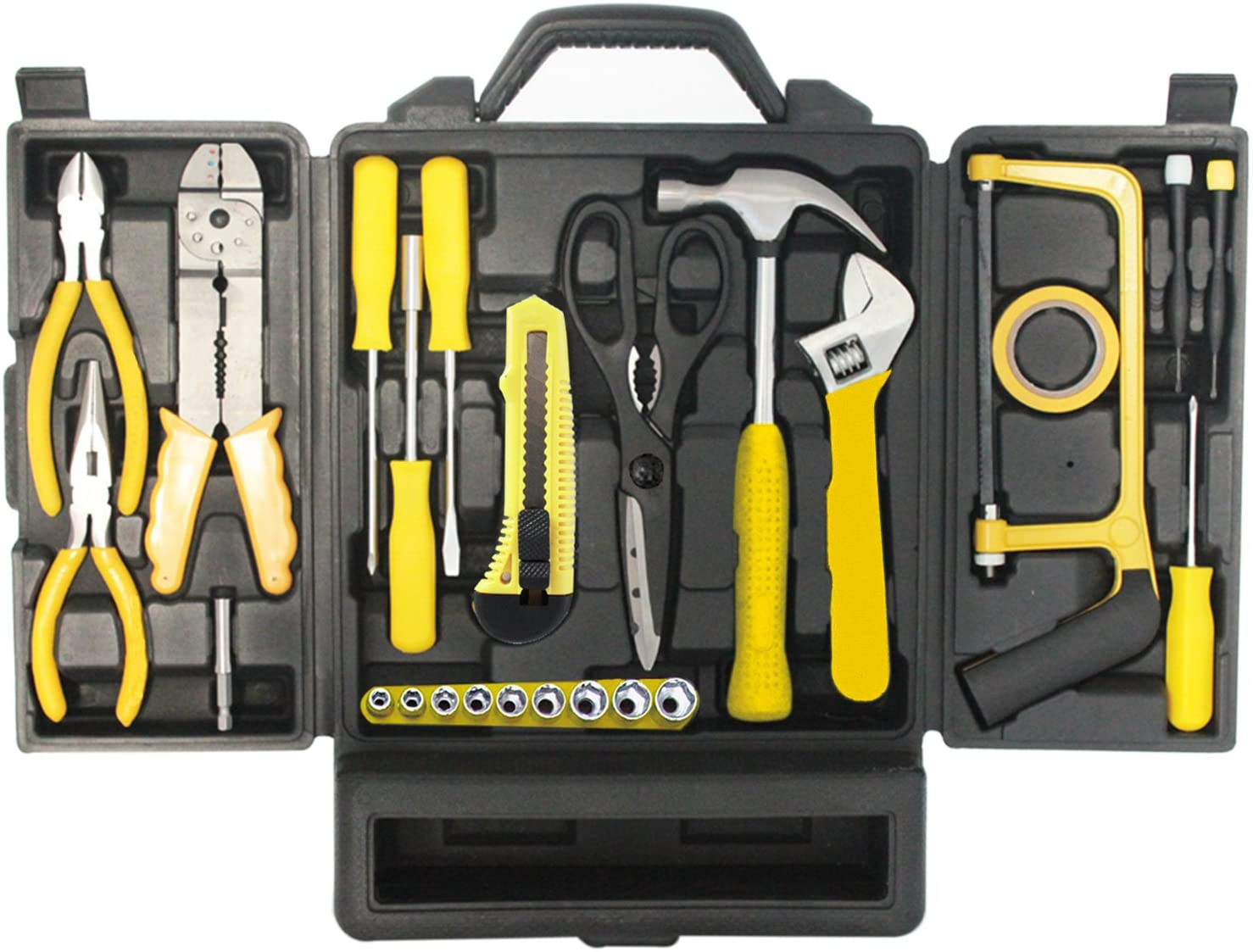 Mannsberger 119 Pieces Tool Set, Yellow