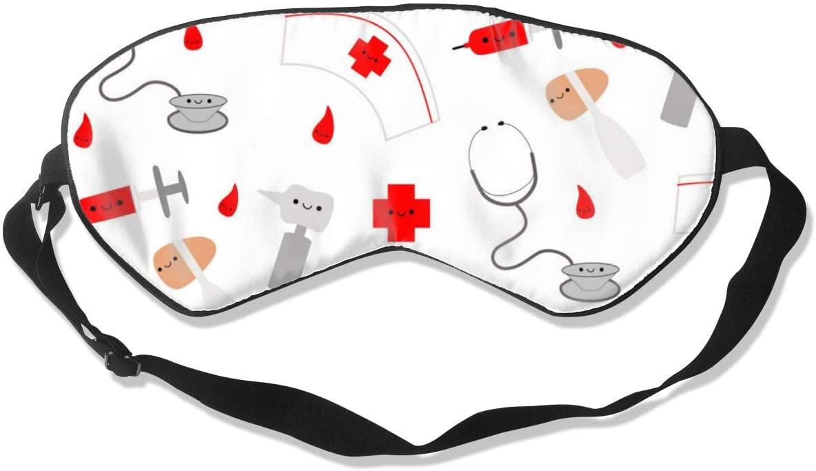 Nurse Women Men Eye Shade Cover for Sleeping,Eye Mask for Night Sleep
