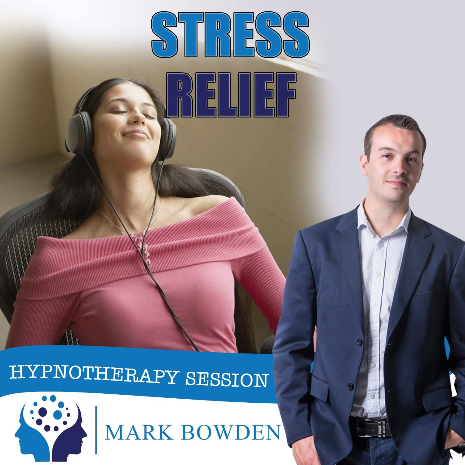 Stress Relief Hypnosis CD - Face Every Day Feeling More Relaxed and in Control - Reduce Anxiety & Worry - Lead a Happier Life & Protect Your Health