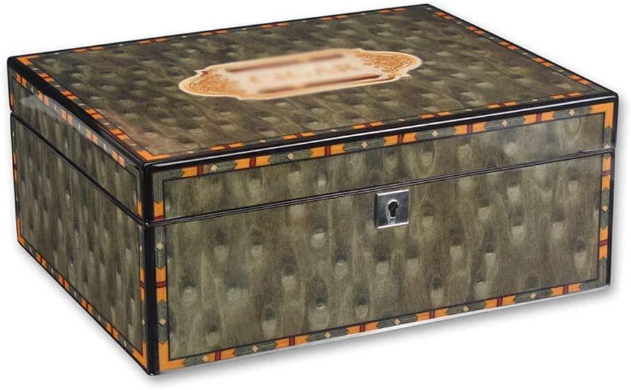 Cigar Humidors - Cedar Cigar Humidor 50-Piece Solid Wood Cigar Box Cigar Box Size:30x24x12cm Spanish Cedar Storage Container