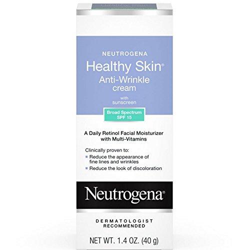 Neutrogena Healthy Skin Anti-Wrinkle With Sunscreen SPF 15 1.40 oz (Pack of 5)