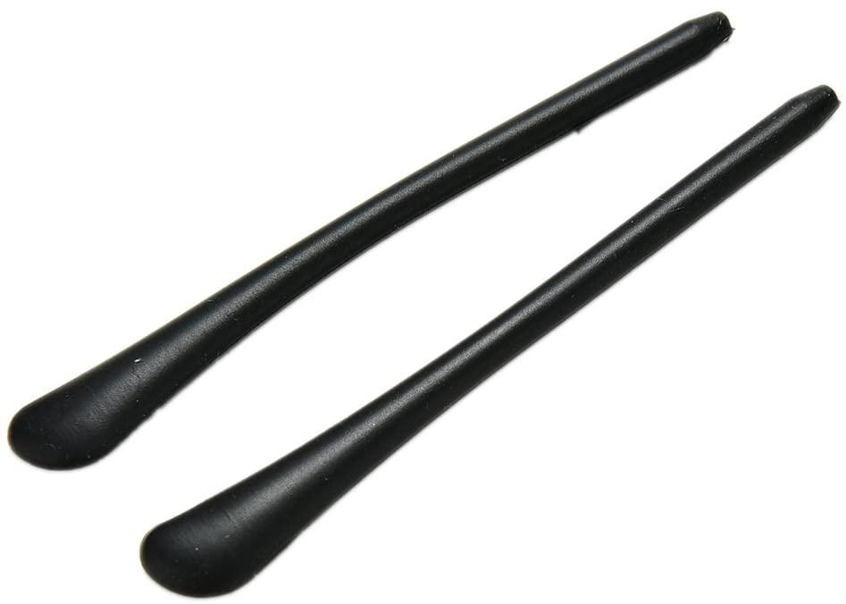 1 Pair Non-Slip Elastic Detachable Eyeglasses Silicone Rubber End Tips