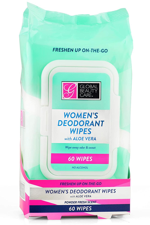 Women's Deodorant Wipes - 60ct