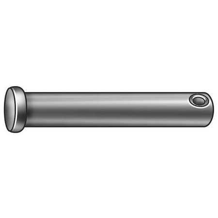 Clevis Pin, Std, Zinc, 0.187x7/8 in, PK25