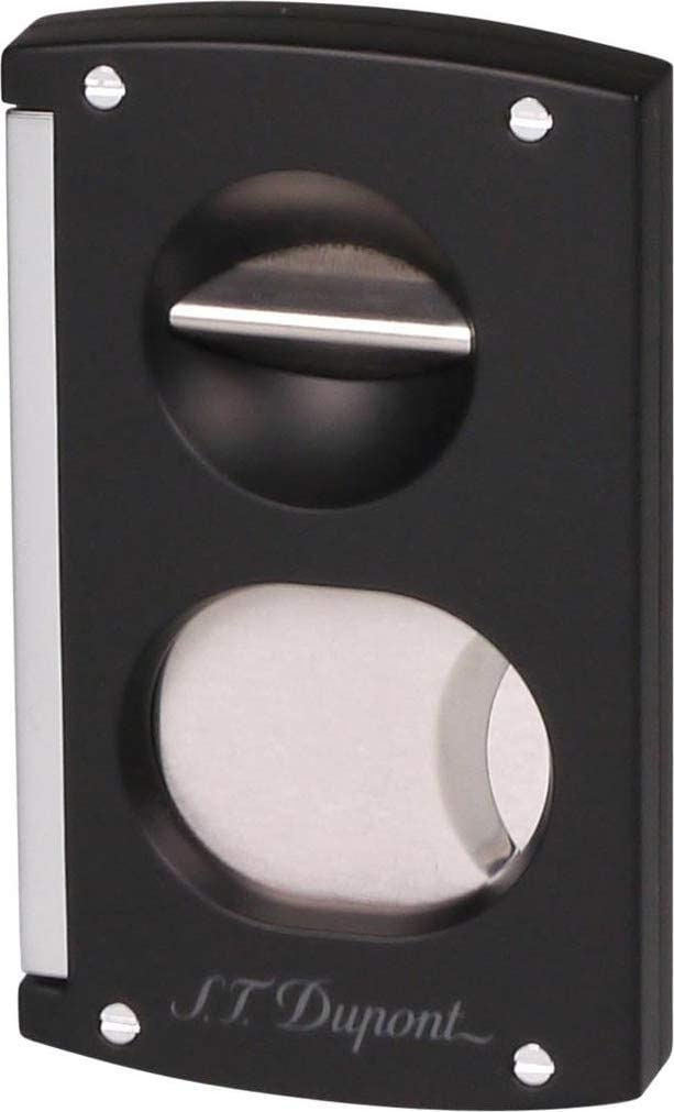 S.T. Dupont Double Blade Cigar Cutter (Black)