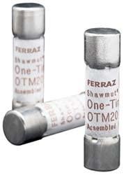 Mersen OTM Fast-Acting Midget Fuse, 250VAC, 10kA, 5 Ampere, 13/32