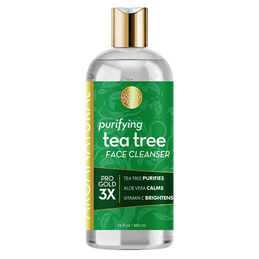 Arganatural Gold Purifying Tea Tree Face Cleanser 16oz / 480ml