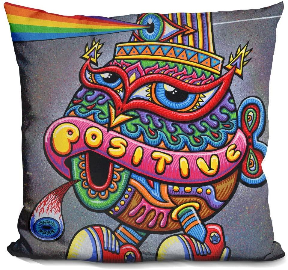 LiLiPi Activated Turtle Cap Decorative Accent Throw Pillow
