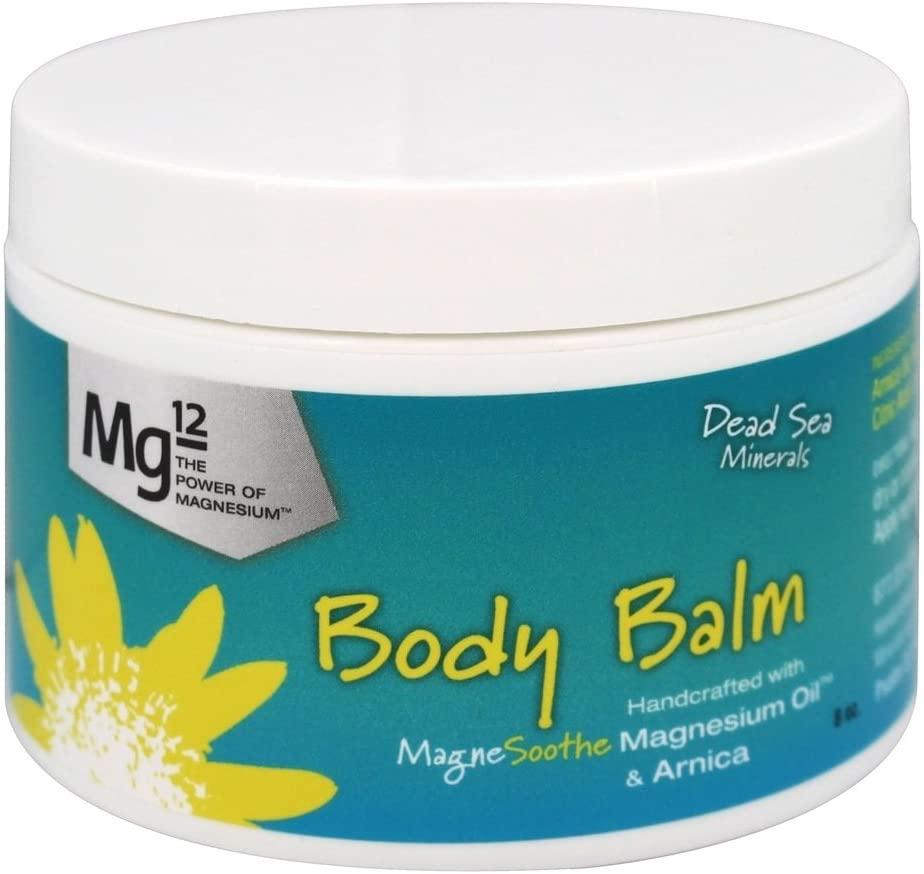 Mg12 8oz Body Balm with Magnesium Oil and Arnica