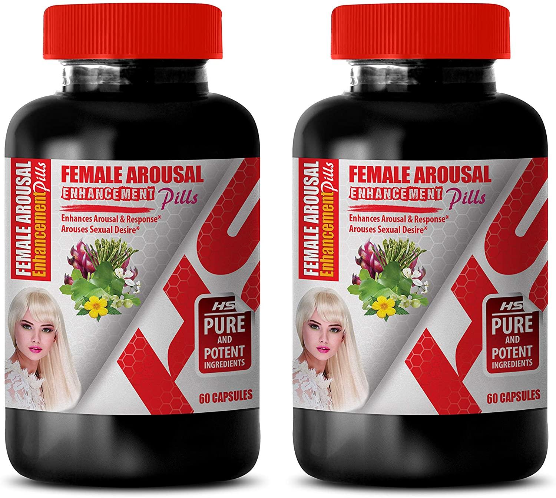 Best Female Sexual Enhancement - Female Arousal Enhancement Pills Complex - tribulus terrestris for Women - 2 Bottles 120 Capsules