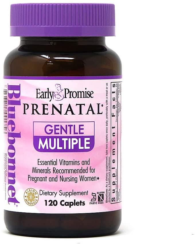 Bluebonnet Early Promise Prenatal Gentle Multiple Caplets, 120Count
