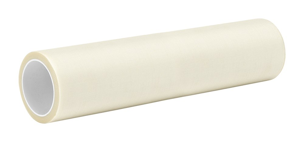 3M 8-5-361 White Glass Cloth/Silicone Adhesive Electrical Tape, -65 Degrees F to 450 Degrees F, 5 yd Length, 8 Width