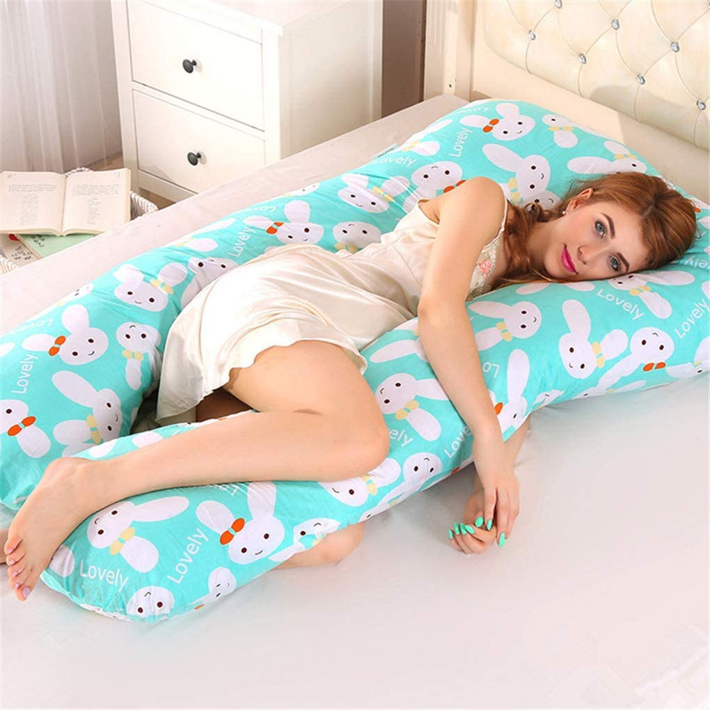 MXY_Natural Memory Foam U Pillow for Sciatica Pain Relief, Leg Pain, Back Pain, Pregnancy, Hip Pain, Leg Locator Pillow Wedge Profile.