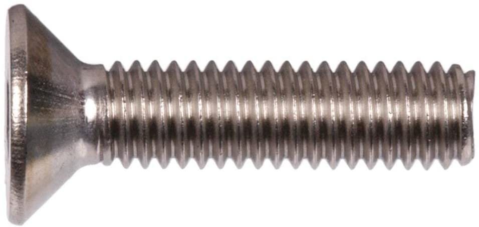 Socket Flat Countersunk Head Cap Screw, 1/4-20 x 5/8