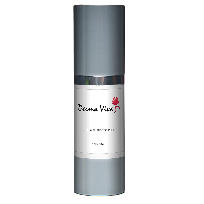 Derma Viva - Anti-Wrinkle Complex - Smooths Away Fine Lines and Wrinkles - Brighten Skins Appearance - 30ml
