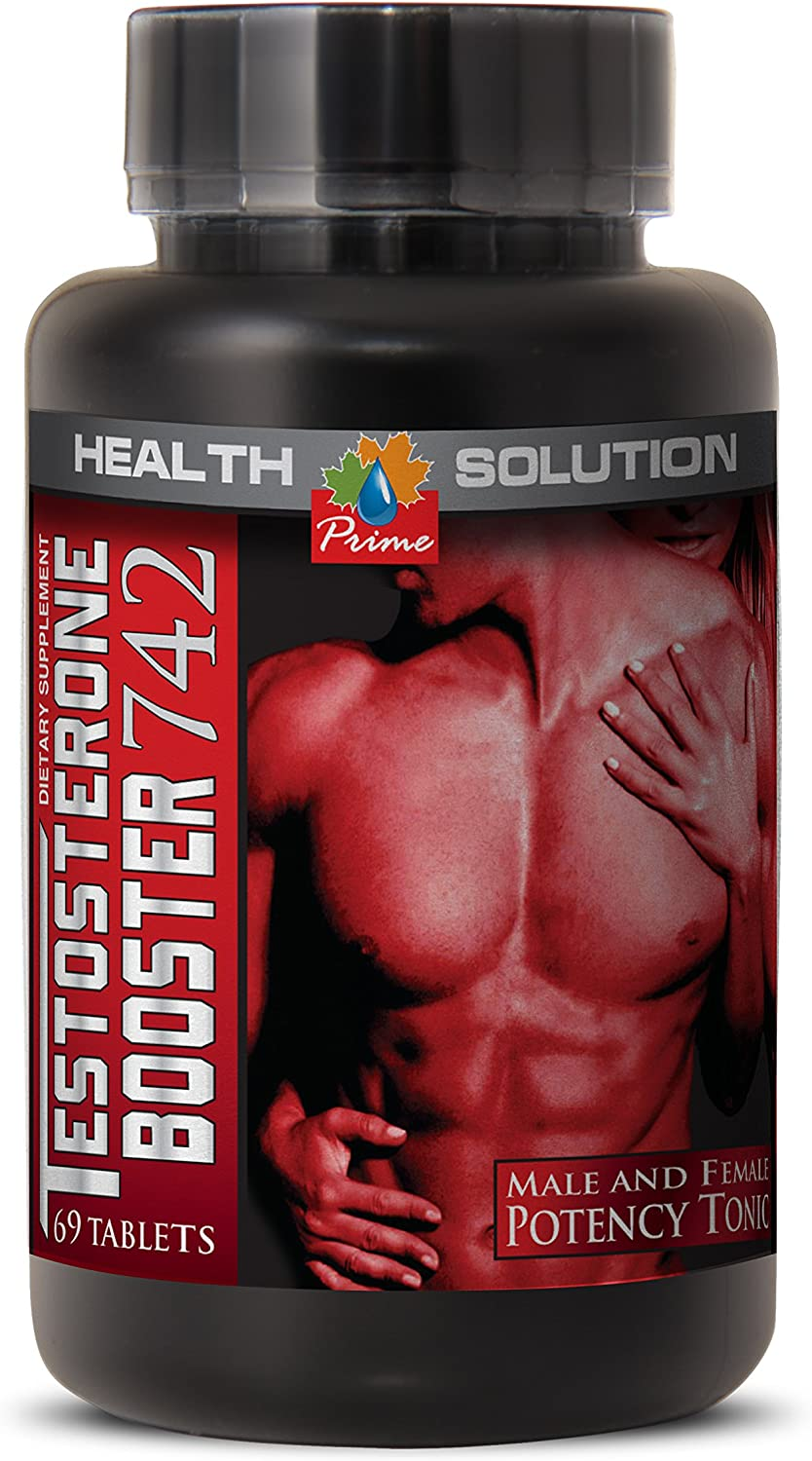 Tribulus terrestris Extract - Testosterone Booster 742MG - Increase in Sexual Desire (1 Bottle)