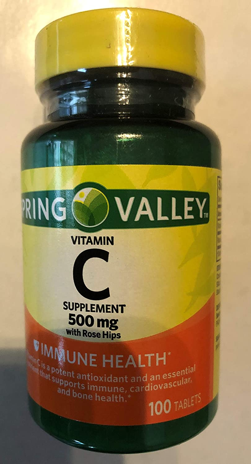 Spring Valley Natural C Vitamin With Rose Hips