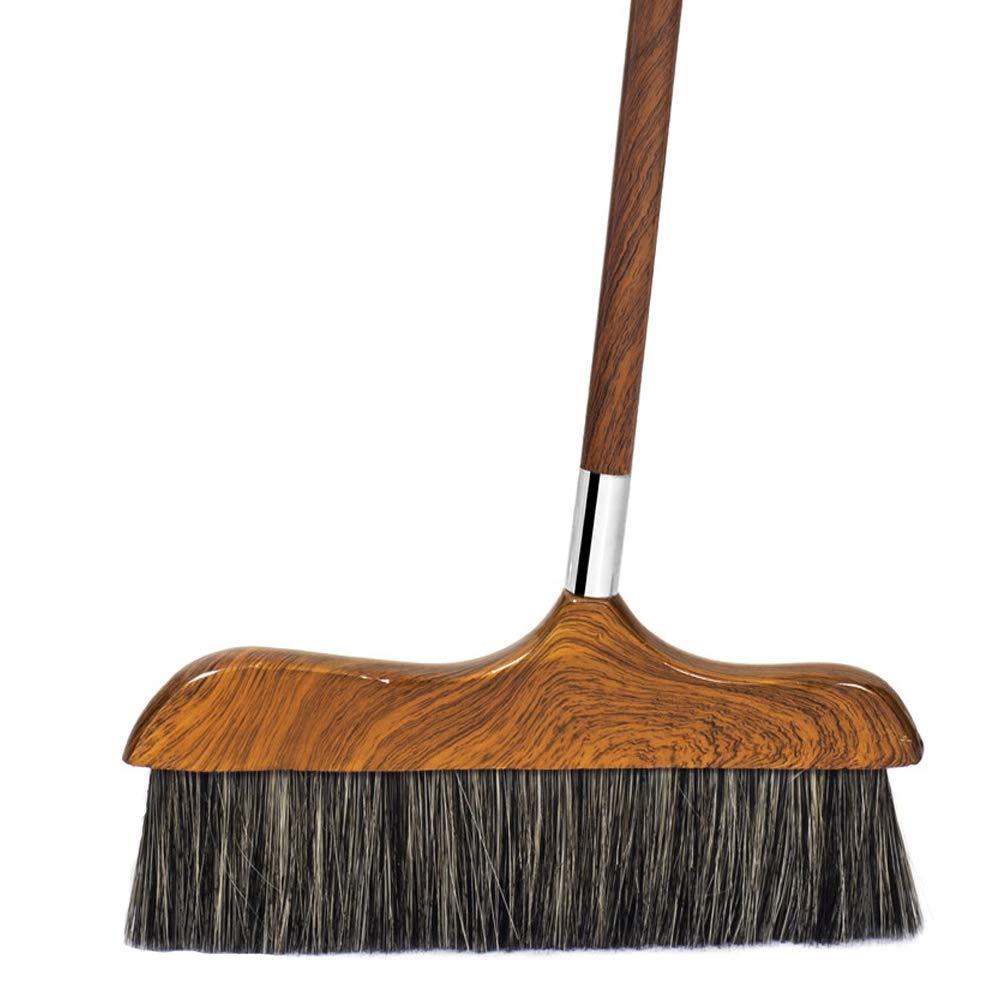 Indoor Long Handle Broom - Household Broom Soft Brush - Suitable For Schools, Lobbies, Supermarkets, Families, Hotels