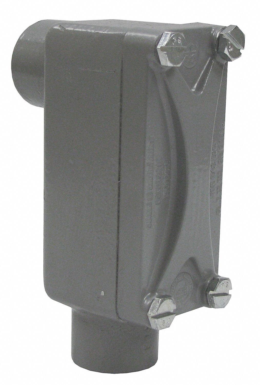 KILLARK XLB-2 Type LB, Aluminum, 3/4INCH, Conduit Body