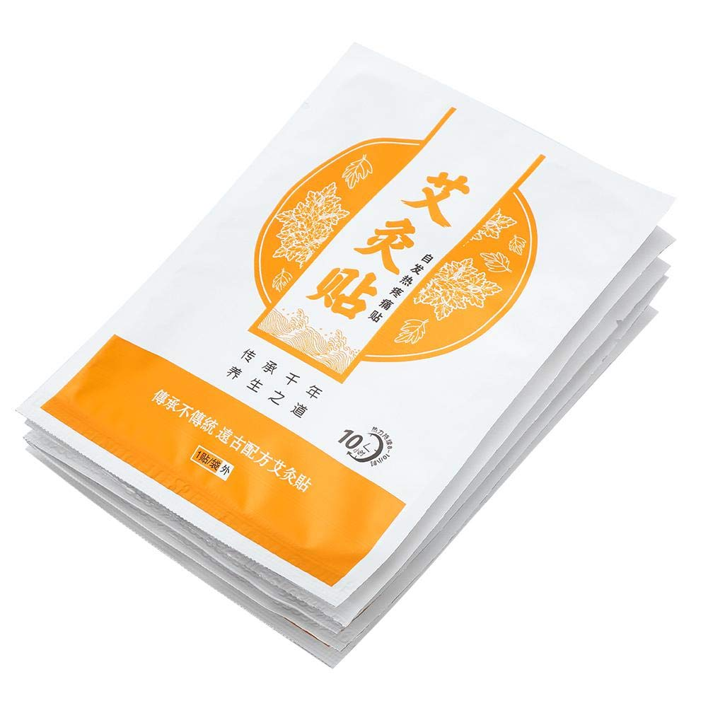 Moxibustion adhesives, wormwood moxibustion adhesive hot moxibustion paste cervical warm spine portable moxibustion for relief of pain for neck and shoulders and waist and leg