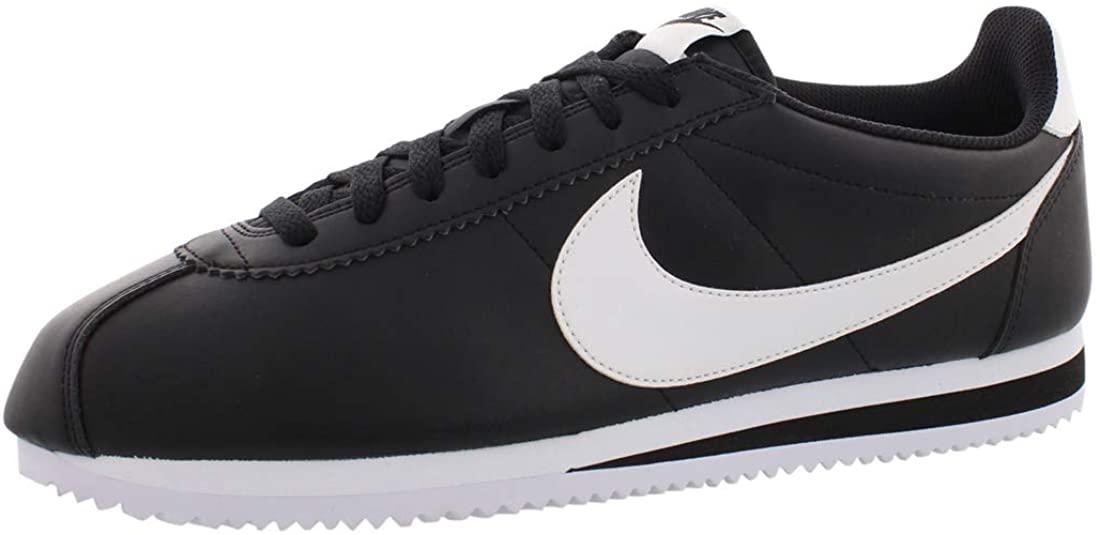 Nike Women's Classic Cortez Leather Black/White