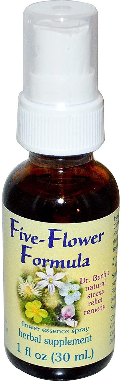 Flower Essence Services - Five-Flower Formula Spray 1 oz