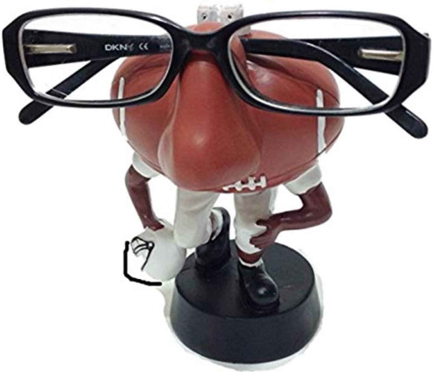 Football Fan Eyeglass Holder Stand Novelty Gift