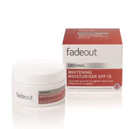 #MG FADE OUT Advanced Whitening Original Cream 50ml SPF15 -Achieve a brighter, smoother complexion with the Fade Out Original Day Cream SPF 15