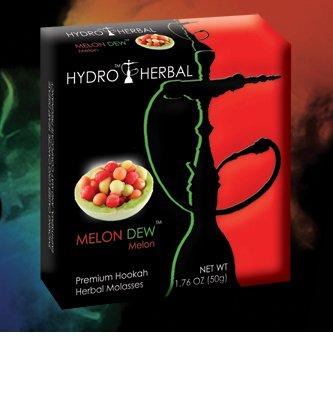 Hydro Herbal 50g Melon 2 PACK Hookah Shisha Tobacco Free Molasses