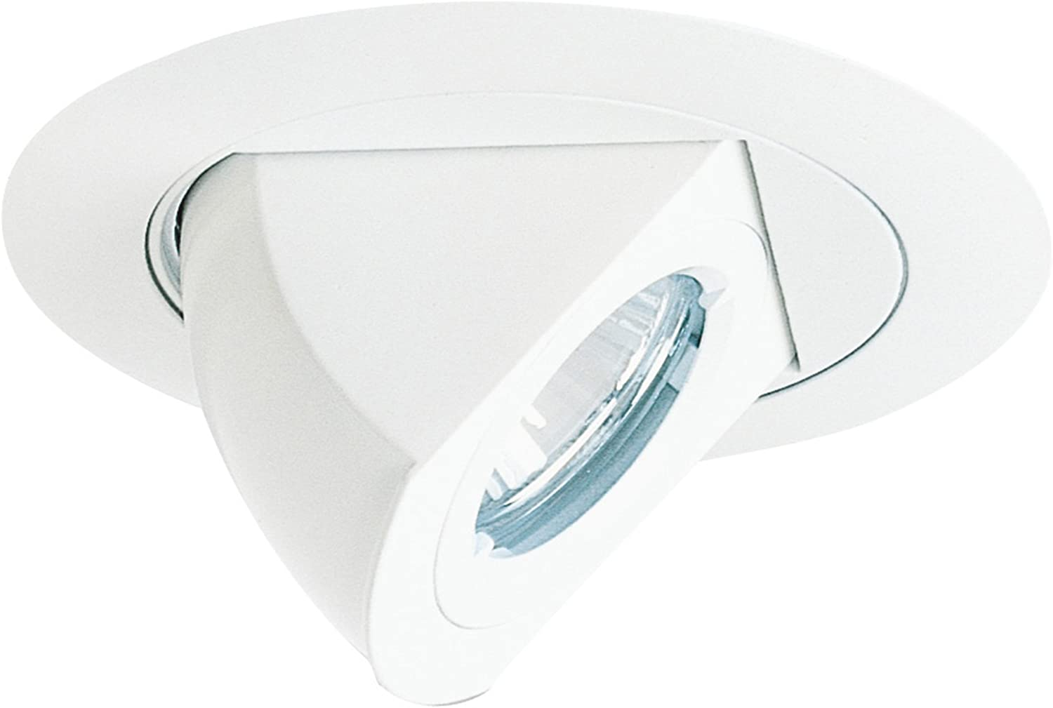Juno Lighting 449-WH 4-Inch Aiming Elbow Recessed Trim, White